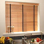 click to view Venetian Wood Blinds